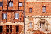 Medieval Houses In Albi France poster