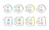 People, Headhunting And Time Management Icons Simple Set. Share Sign. Support Job, Person In Target, poster