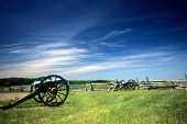 foto of rebs  - Napoleon artillery battery near the Angle Civil War battlefield Gettysburg National Battlefield Park Pennsylvania
