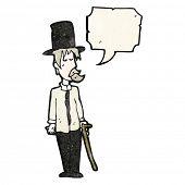 pic of hobo  - cartoon hobo in top hat - JPG