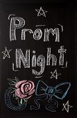 Prom Night Advertisement Sign
