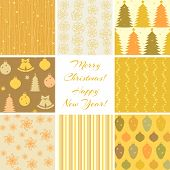 Christmas patterns collection 3
