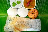 picture of tamil  - South indian breakfast - JPG