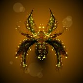 pic of black widow spider  - Abstract spider - JPG