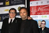 LOS ANGELES - FEB 23:  David O Russell, Franco Nero at the LA Italia Opening Night at TCL Chinese 6
