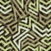 foto of striking  - Graffiti grunge geometric seamless pattern with bold striking design with angular shapes and lines for wrapping paper  wallpaper and fabric - JPG