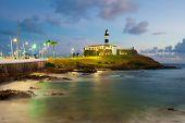 pic of lighthouse  - Salvador da Bahia Brazil  - JPG