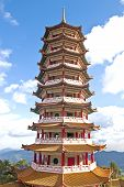 foto of gents  - Chinese Pagoda is  on the Genting Highlands Hill Country - JPG