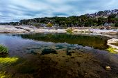 stock photo of crystal clear  - Pedernales Falls State Park in Texas - JPG