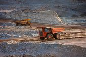 foto of earth-mover  - coal - JPG