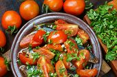 pic of stew  - Vietnamese food braised fish with tomato a popular dish in Vietnam meal cheap tasty nutrition and fresh raw material fish stew with fish sauce sugar season with tomato spice - JPG