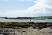 picture of galway  - The beach at Claddaghduff - JPG