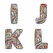 picture of letter j  - Letters I J K L - JPG