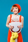 pic of french beret  - studio portrait - JPG