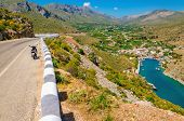 stock photo of lowlands  - View on Vathi bay - JPG