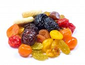 picture of dry fruit  - mix dried fruits collection - JPG