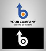 foto of letter b  - Letter B logo icon design template elements - JPG