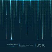 image of binary code  - Abstract technology background - JPG