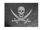 foto of pirate flag  - Large jigsaw puzzle of 1000 pieces  - JPG