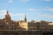 stock photo of olden days  - View of Valletta with St - JPG