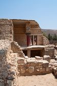 stock photo of minos  - Knossos is an old village for the Minoan society - JPG