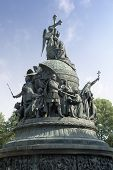 The Millenium Of Russia Monument, Velikiy Novgorod, Russia poster