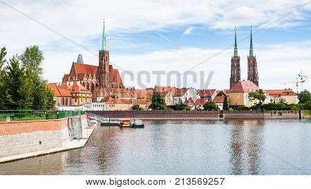 Panorama With Churches And Ostrow
