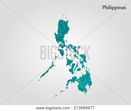Map of philippines poster id213689977 map of philippines poster gumiabroncs Images