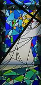 pic of stained glass  - Via Dolorosa - JPG