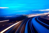 stock photo of dizziness  - speedway - JPG