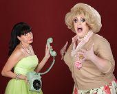 foto of drag-queen  - Retro - JPG