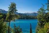 Lake Nahuel Huapi And Villa La Angostura Town, Argentina poster