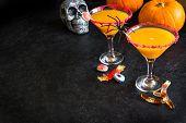 Halloween Pumpkin Spice Martini poster