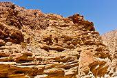 foto of anza  - Interesting rock formations in the desert in California - JPG