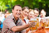 foto of lederhosen  - In Beer garden  - JPG