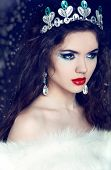 stock photo of mink  - Queen - JPG