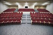 picture of academia  - An empty lecture hall of a college university - JPG