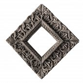 foto of nepali  - ancient wooden carved frame  - JPG