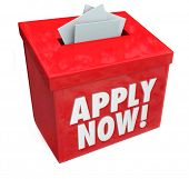 Apply Now for a job, loan or other important thing you desire by inserting your application in this