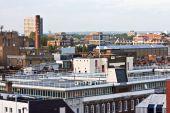 foto of hackney  - The skyline of east london looking towards bethnal green  - JPG