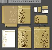 Corporate Identity Template, Coffee