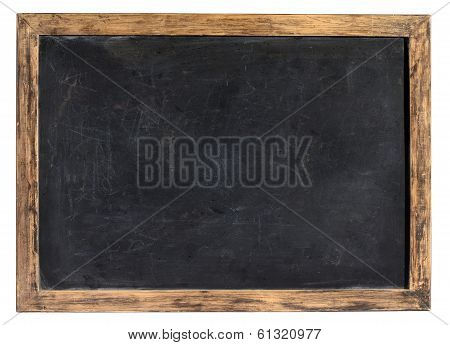 Vintage Blackboard Or School Slate poster