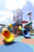 stock photo of swingset  - CYBERJAYA - JPG