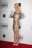 LOS ANGELES - JAN 8: Britney Spears at The People's Choice Awards at the Nokia Theater L.A. Live on