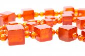 Baltic amber retro beads