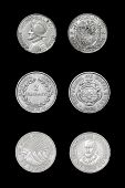 picture of xx  - Set of coins of central american countries  - JPG