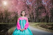stock photo of hanbok  - Hanbok - JPG