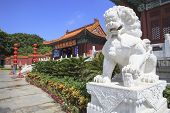 foto of garden sculpture  - front view of Simulation of Old Summer Palace Gardens of Perfect Brightness Imperial Gardens Zhuhai southern of China republic - JPG