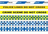 picture of police  - police tape - JPG