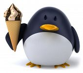 foto of south-pole  - Fun penguin - JPG